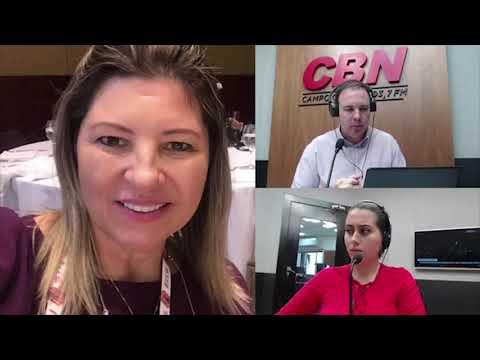 Entrevista CBN Campo Grande (03/04/2020) - Andrea Lindenberg, Pres. da Sociedade de Infectologia MS