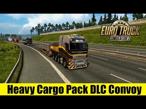 ETS2 Multiplayer - Heavy Cargo Pack DLC Convoy