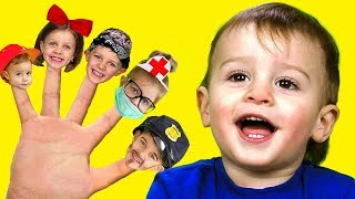 Finger Family, Daddy Finger,  Nursery Rhymes and Kids Songs for Babies and Toddlers