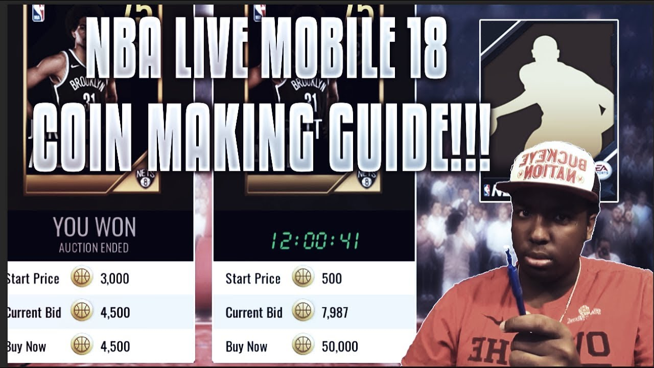 The Ultimate Nba Live Mobile 18 Coin Making Guide