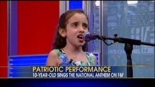 10-year-old Wows Country In Singing Star Spangled Banner At Nba Finals