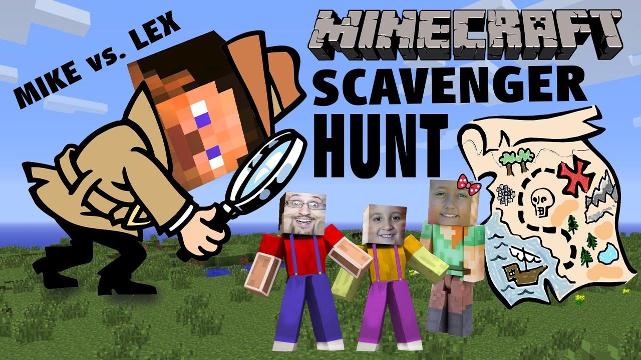 Minecraft Scavenger Hunt W Dad Amp Kids Pocket Edition