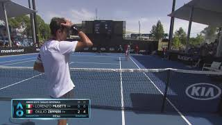AO Highlights: Musetti v Zeppieri Semifinals | Wide World of Sports