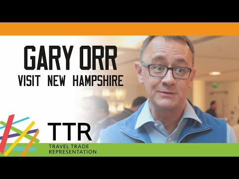 Gary Orr, Visit New Hampshire - TTR Travel Industry Road Show