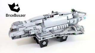 Lego Star Wars 75106 Imperial Assault Carrier - Lego Speed Build
