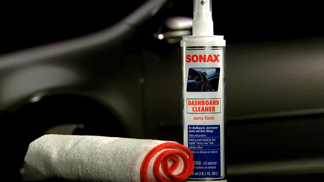 Sonax Dashboard Cleaner Youtube