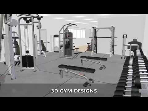 3D Gym Equipment Designs