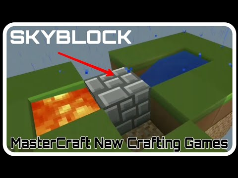 Play Skyblock In MasterCraft New Crafting Games
