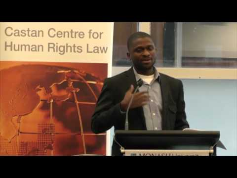 Transitional Justice in Sierra Leone (presented by Emmanuel Saffa Abdulai)
