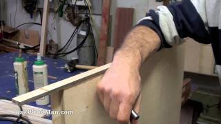 How To Make Plywood Boxes • 15 Of 64 • Woodworking Project For Kitchen Cabinets, Desks, Etc...