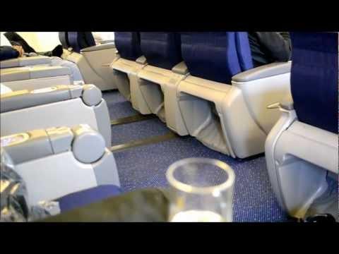 KLM Business Class - Amsterdam to Manila.wmv