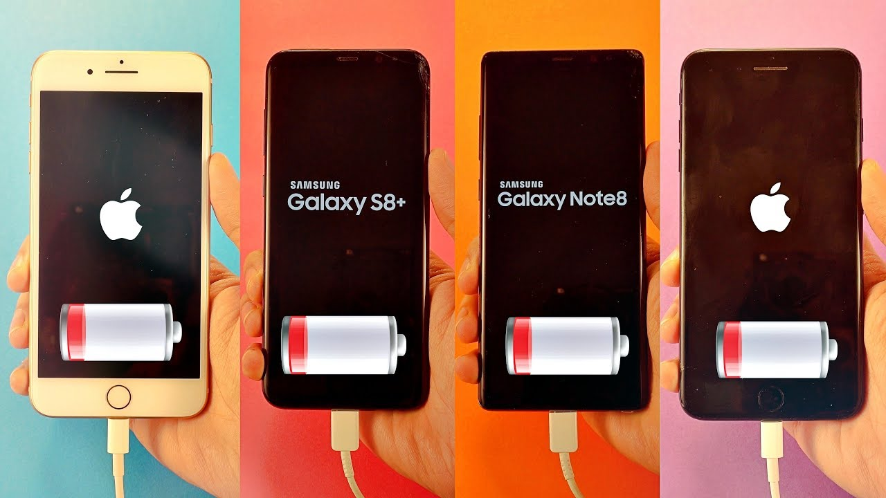 Going from iphone to samsung note 8 plus compare s8