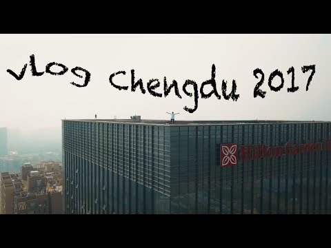 Vlog ep.1 - BIG BUILDINGS, PANDAS AND FISE - CHENGDU 2017