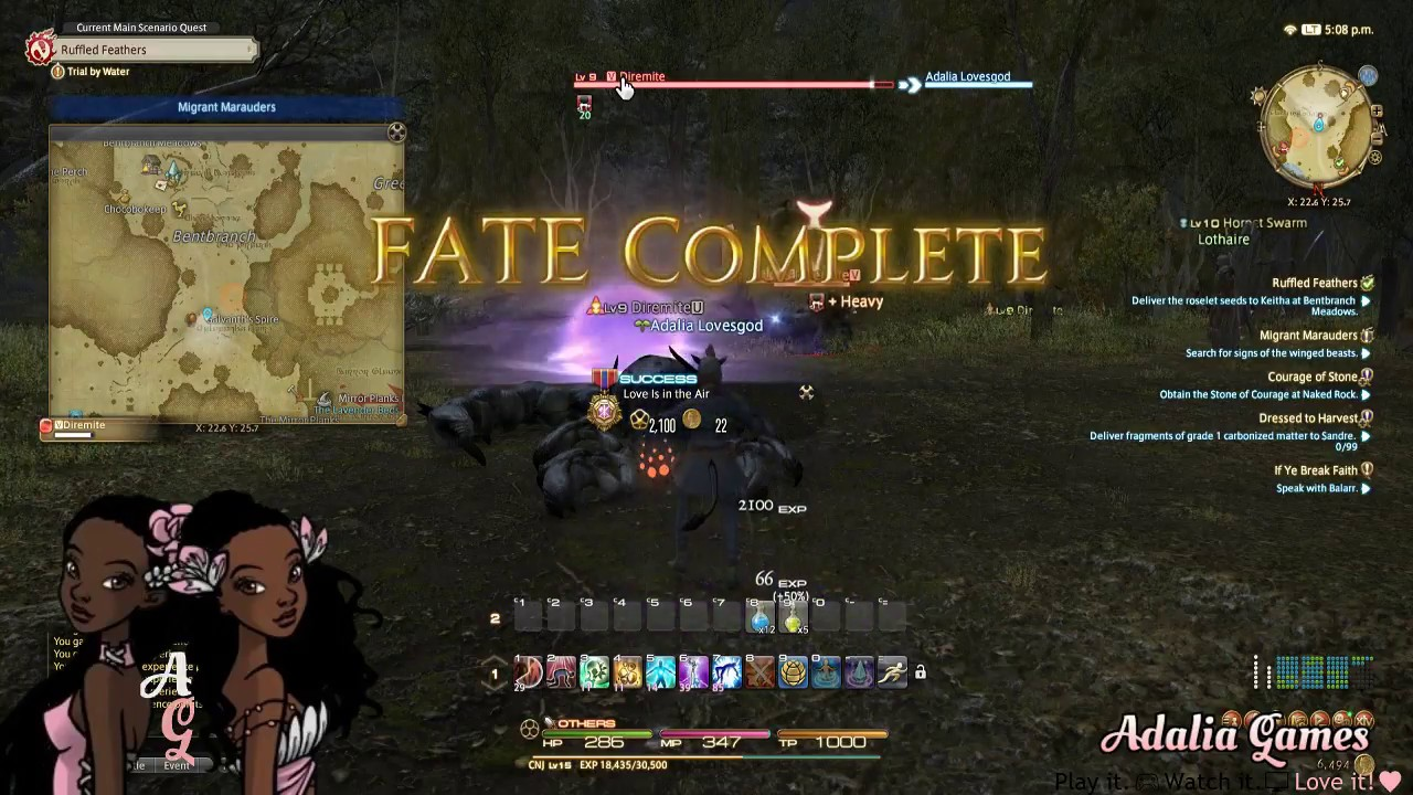 Final Fantasy XIV Gameplay - Road to Scholar Pt. 1 Let's Play! (No Commentary)