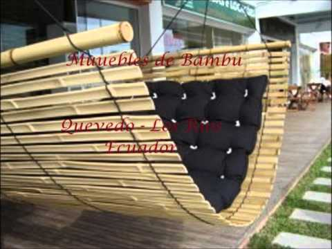 Muebles de Bambu Victoria - YouTube