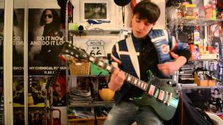 Na Na Na (My Chemical Romance) : Guitar cover (Frank + Ray live parts)