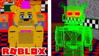 How To Get Springlocks Badge and Glitched Freddy in Roblox FNAF Help Wanted RP