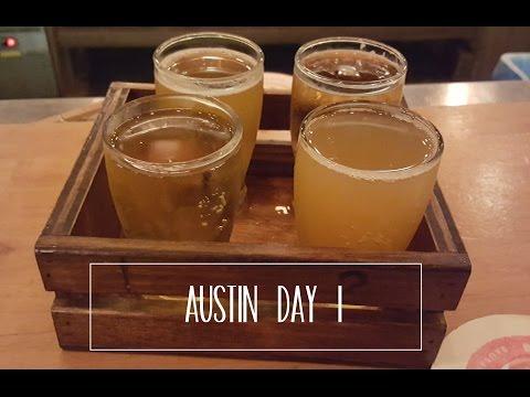 Austin Roadtrip Part 1 // Beer tasting // Rainey St // 6th St // Rudy's