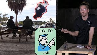 The First Time I Got Arrested.. (Jumping Over a Cop!)