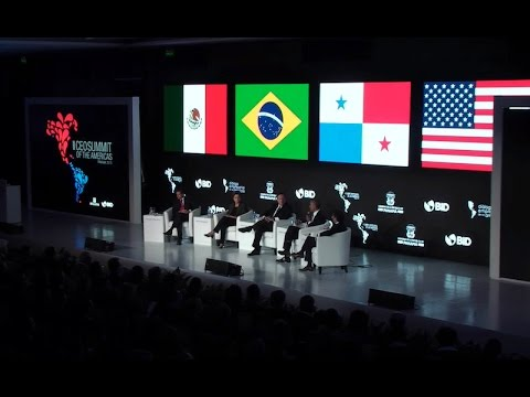 President Obama Attends the CEO Summit of the Americas