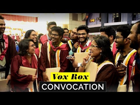 IIT Madras Convocation 2018  |  Vox Rox   |  (Subtitles available)