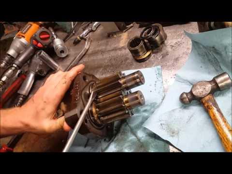 PTO hydraulic pump tear down(permco pump)