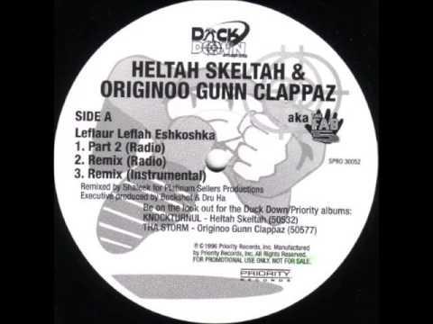 "Heltah Skeltah Ft O.G.C. - Leflaur Leflah Eshkoshka - 12"" Priority Records 1996 - BOOT CAMP CLICK"