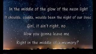 Cole Swindell- Middle of a Memory Lyrics
