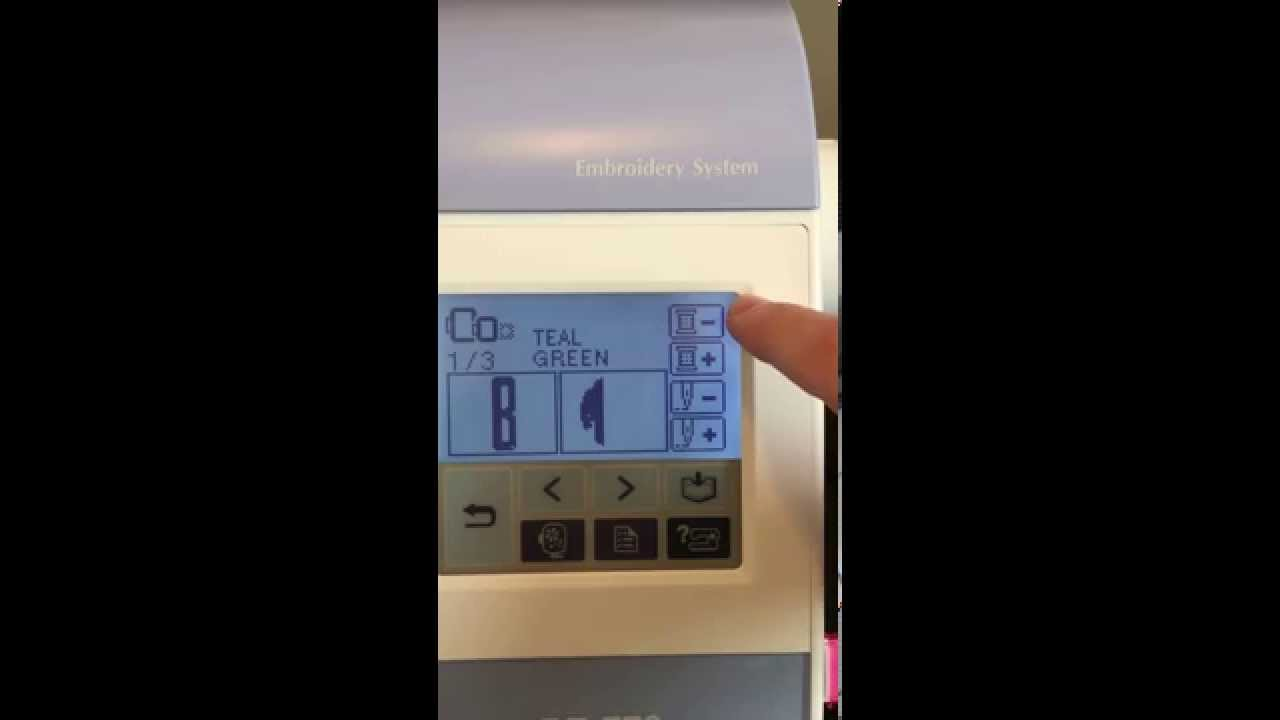 Stitch On Your Brother  Pe770 Embroidery Machine