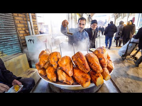 Undiscovered IRANIAN STREET FOOD Tour!! | Ancient Bazaar of Tabriz, Iran!