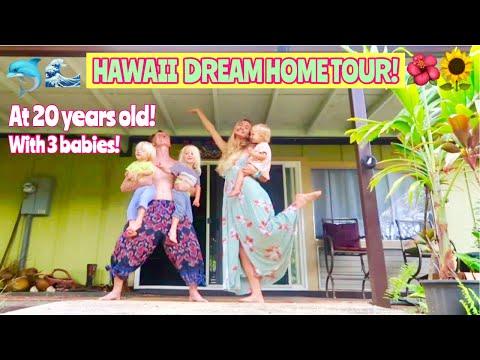 OFFICIAL HAWAII DREAM HOME TOUR!! MINIMALIST DECOR!