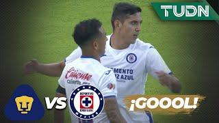 ¡Qué golazo! la máquina empata el partido | Pumas 1-1 Cruz Azul | Copa por México | TUDN
