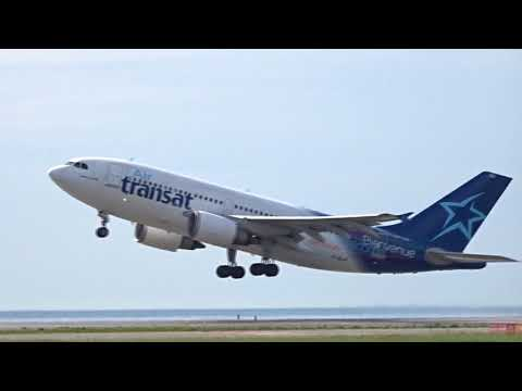 First Air Transat flight for 2018 taking off to Montreal