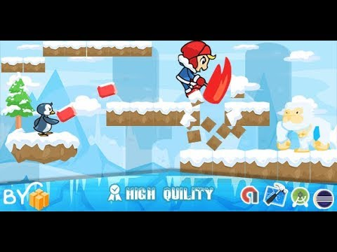Ice Climber Game For Android Template Buildbox