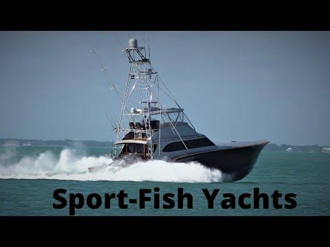 SportFish Yachts Wide Open ! (Paul Mann Custom Feature )