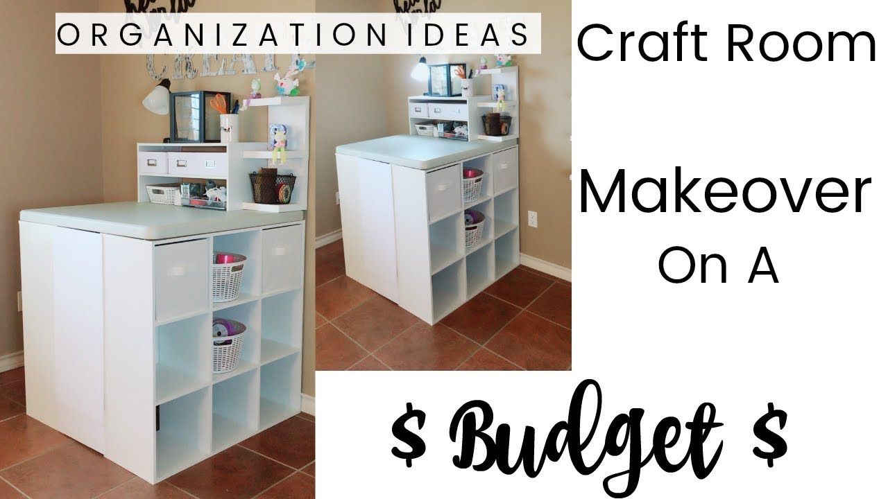 Craft Room Makeovers: Craft Room Makeover On A Budget