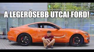Megjött a főnök - A Mustang Shelby GT500 félelmetes technikája