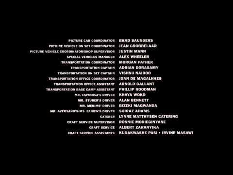 SafeHouse [2012] Ending Credits