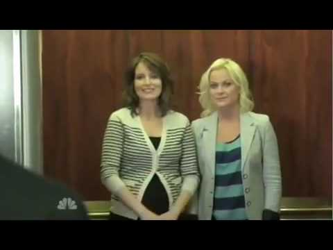 Amy Poehler and Tina Fey Jersey Shore Parody