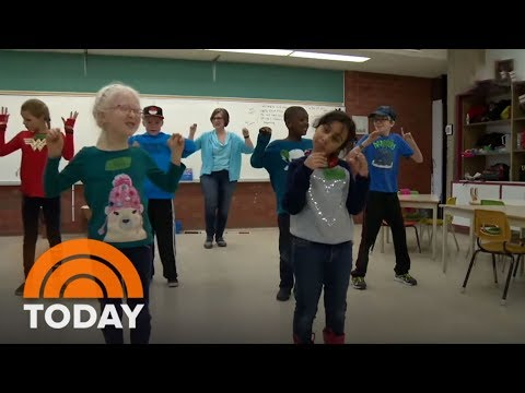 New Arts Program In Canada Gets Visually-Impaired Kids Dancing | TODAY