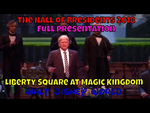The Hall of Presidents 2018 at Walt Disney World