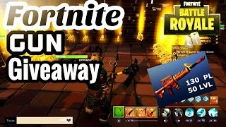 Fortnite|Save The World Gun Giveaway 130 PS4