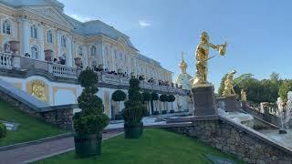 петергоф фонтаны  петергоф дворец  петергоф история петергоф нижний парк 2019