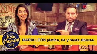 Video MARÍA LEÓN habla de Playa Limbo, Netflix, el Sargentour y más! download MP3, 3GP, MP4, WEBM, AVI, FLV Juli 2018