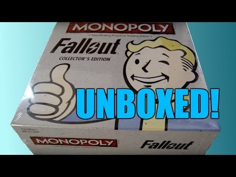 Unboxing Fallout Collector's Edition Monopoly