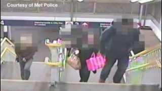 CCTV Of Acid Attack Victim, Naomi Oni Being Followed Mary Konye In Niquab