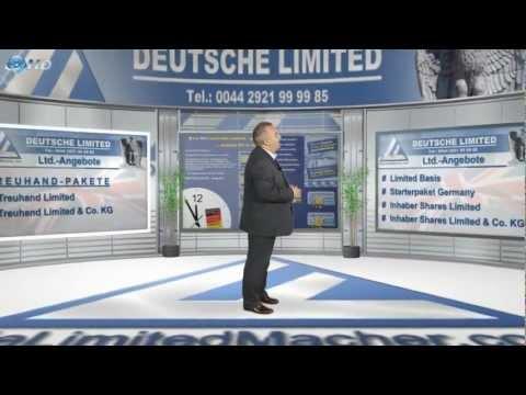 Limited Gründung - Firmengründung Ltd., in 24 Stunden geschäftsfähig mit Deutscher Limited
