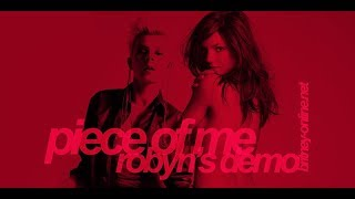 Robyn - Piece of Me (Producer's Demo for Britney Spears)