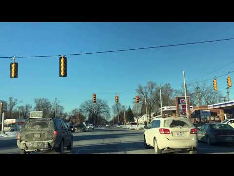 Driving from Detroit, Michigan to Beverly Hills, Michigan