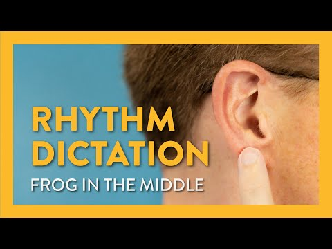 Rhythm Dictation: Frog in the Middle - Piano Lesson 15 - Hoffman Academy